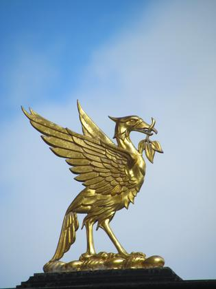 Liverpool City Walks - Liver Bird