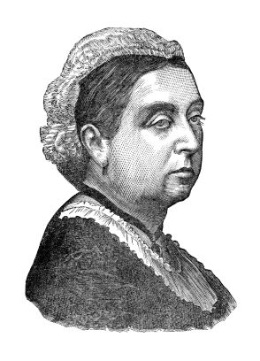 The older Queen Victoria