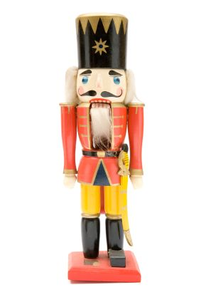 Red Nutcracker Soldier Toy