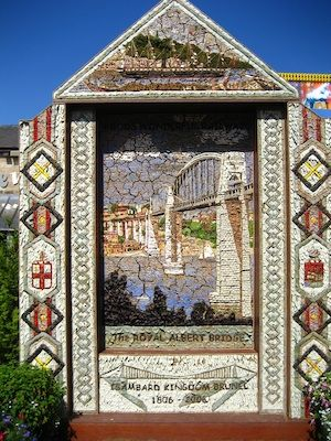 A Buxton Well Dressing (c) SteveR- via Flickr