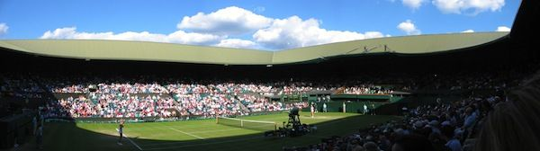Centre Court Panorama (c) Fraser Reid via Flickr