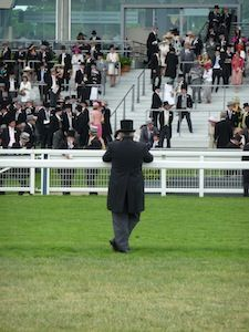 Top hat and tails, Ascot (c) Steve & Jem Copley via Flickr