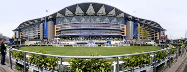 Ascot grandstand and paddock (c) monkeywing via Flickr