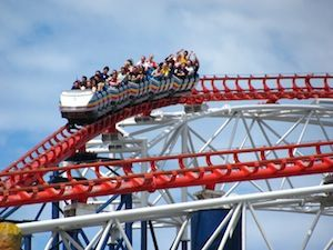 Riding The Big One Blackpool (c) Roller Coaster Philosophy via Flickr