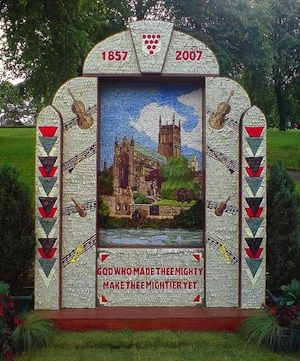 Buxton Well Dressing St Annes Well (c) Ian Parkes via Flickr