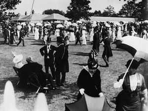 Racegoers at Royal Ascot before the First World War Source:Imperial War Museum