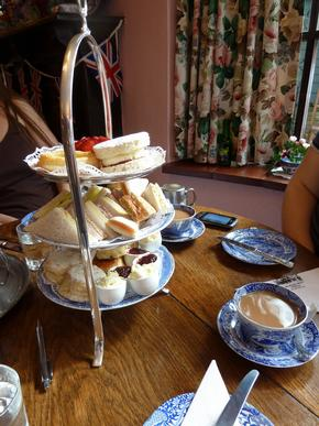 Afternoon Tea At the Maids of Honour, Kew