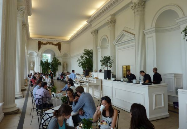 Afternoon tea at the Orangery Kensington Palace London