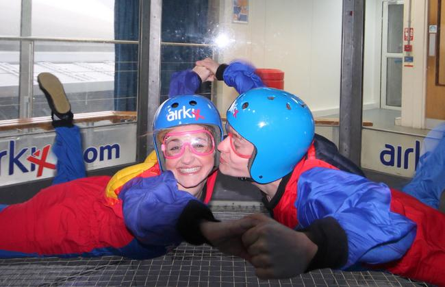 Kissing at Airkix Manchester