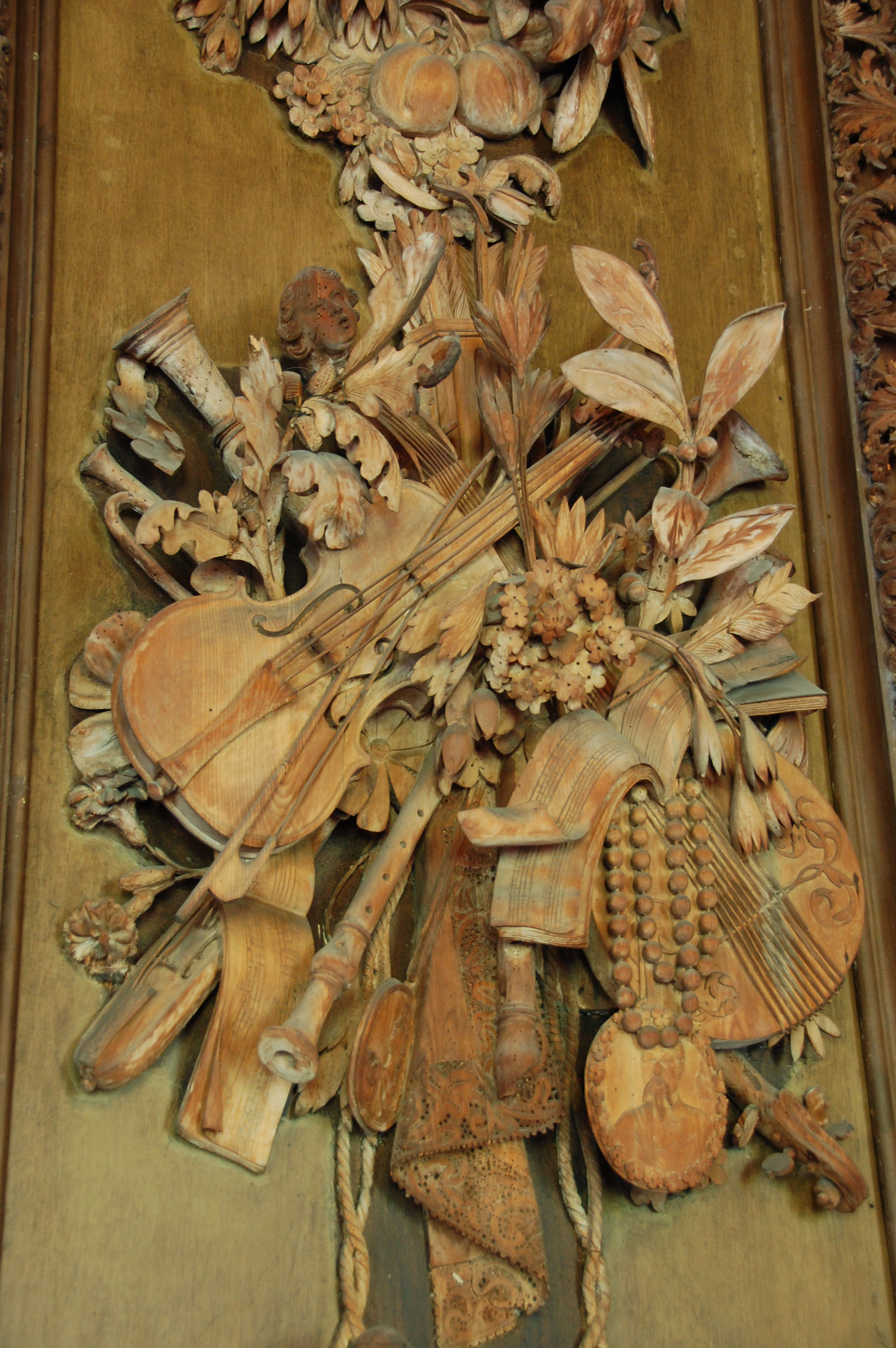 Grinling gibbons on aboutbritain