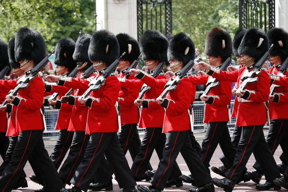 Trooping The Colour And Other Ceremonies On Aboutbritain Com