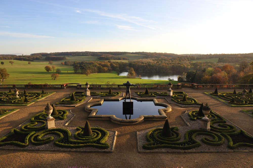 Victorian gardens on for Harewood house garden design