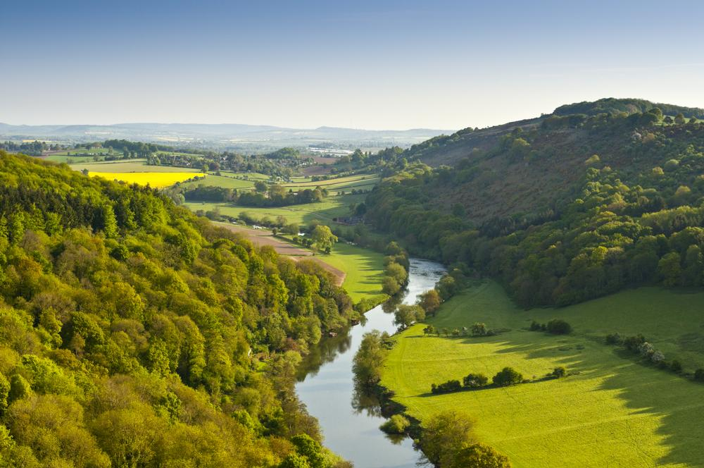 The Wye Valley On Aboutbritain Com