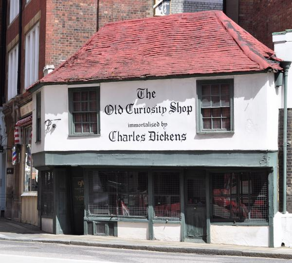 The Old Curiosity Shop in Aldwych, London, immortalised by Charles Dickens