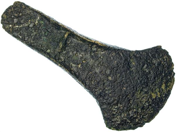 Axe head from the Bronze Age