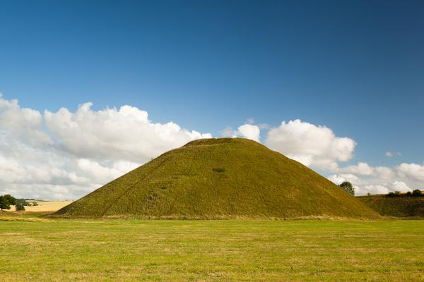 Grassy Mound of Silbury Hill
