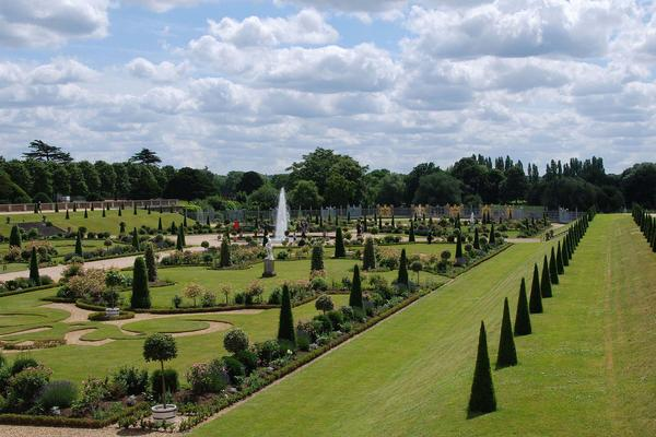Formal Garden at Hampton Court