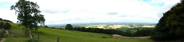 Panoramic views from the Cleveland Way