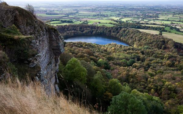 Sutton Bank and Gormire Lake