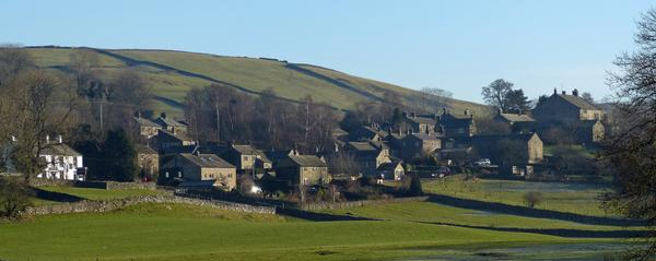 Appletreewick - a Classic Dales linear village.