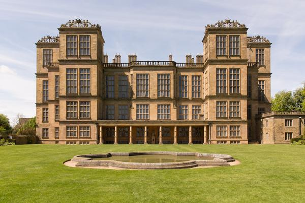 Frontage of Hardwick Hall