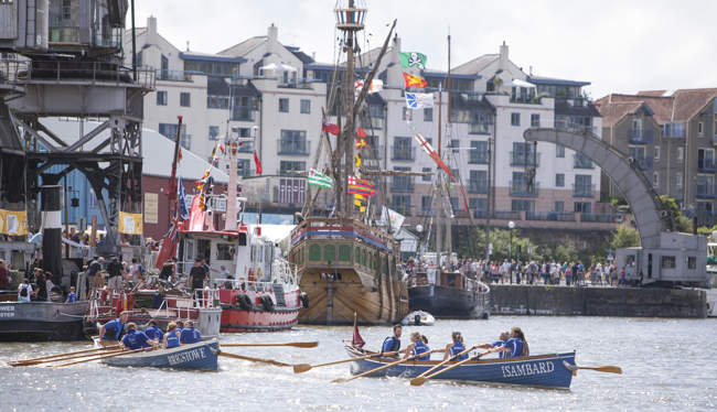 Harbour Festival and The Matthew