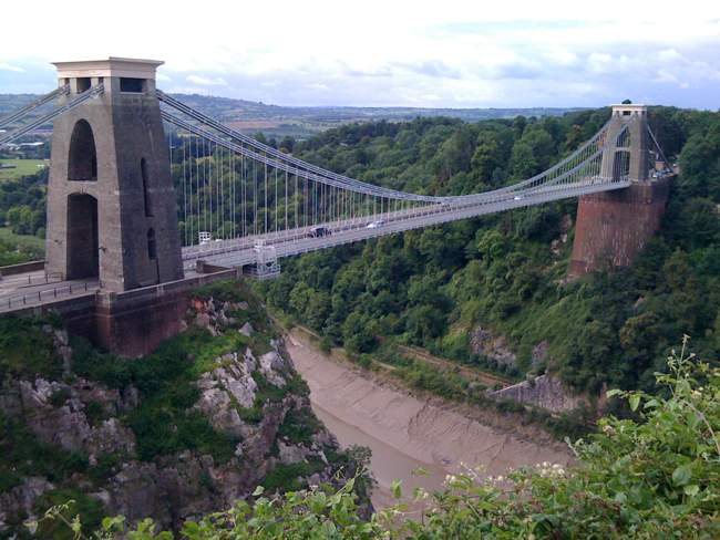 Clifton Suspension Bridge and Avon Gorge