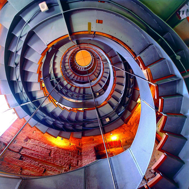 Central Stairwell, The Lighthouse
