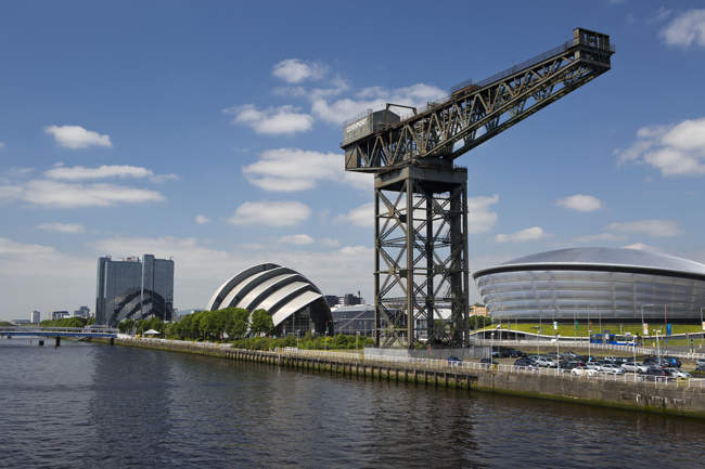 River Clyde and The Finnieston Crane