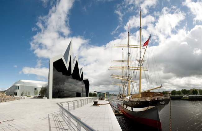Riverside Museum and Tall Ship