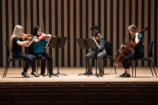 String Quartet, Chethams Lunchtime Concerts