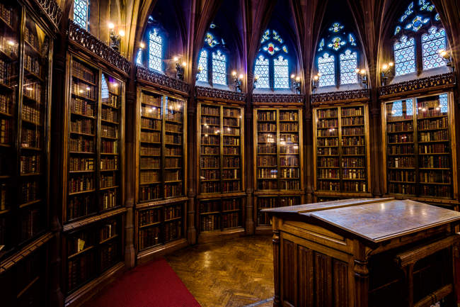 Reading Room, John Rylands Library