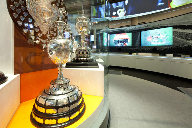 Trophy Cabinet at the National Football Museum