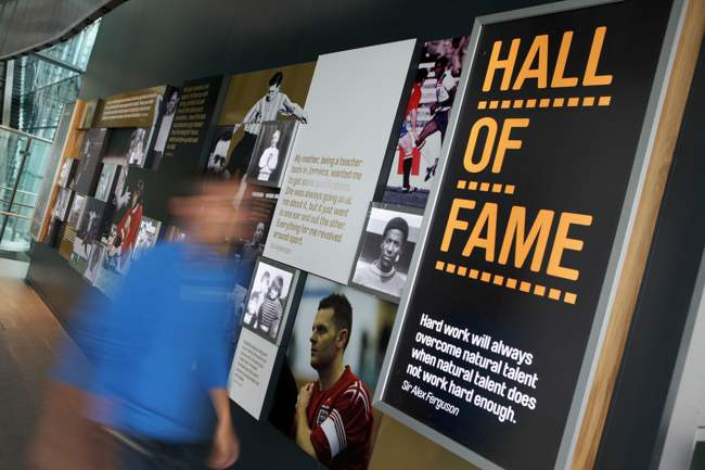 National Football Museum Hall of Fame