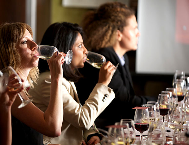 Tasting with the Manchester Wine School
