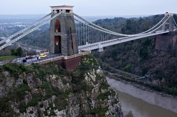 Clifton Suspension Bridge and Gorge, Bristol