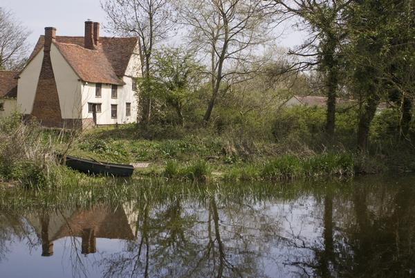 Willy Lotts Cottage, watermill in Essex