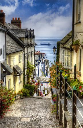 A Fishing Village in Devon