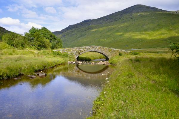 Butterbridge in the Scottish Highlands