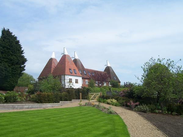 Oast Houses on the North Downs Way