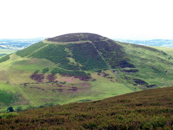 Moel Arthur was the site of an ancient hillfort