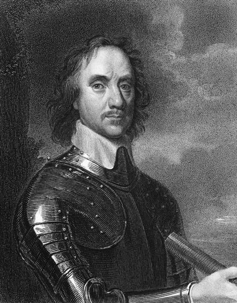 Engraving of Oliver Cromwell