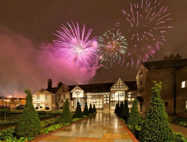 Fireworks at Ordsall Hall