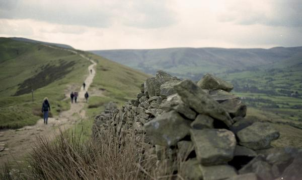 Edale, Peak District, Derbyshire, near the start of the Pennine Way