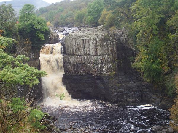 The Mighty High Force waterfall