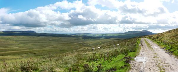 View from the Pennine Way