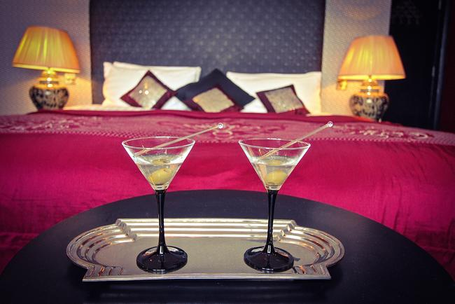 Cocktails for Two at Blanch House