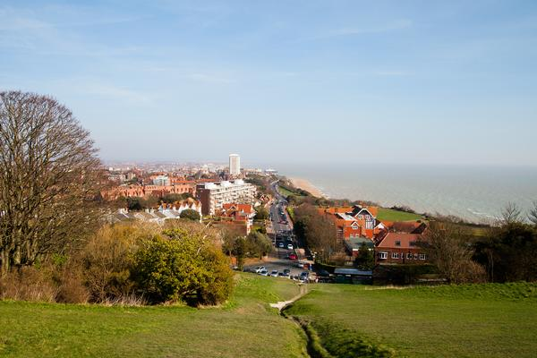 Eastbourne in East Sussex, England, United Kingdom.