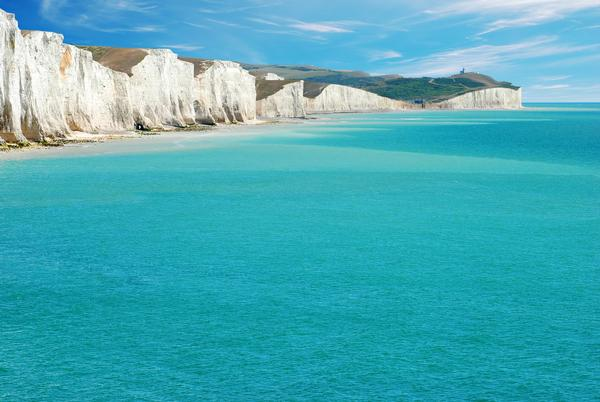 Seven Sisters Cliffs, East Sussex, England