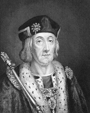 Engraving of Henry VII